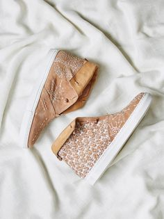 Gansvoort Slip On Sneaker | Ultra bohemian high-top sneaker featuring a suede upper with embroidered details allover.    * Open, slip-on design   * Leather inner   * Classic rubber sole