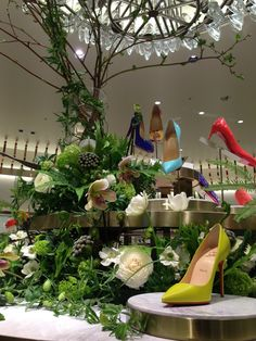 Christian Louboutin #ISETAN shinjuku #flower #shop #works #matilda #中目黒
