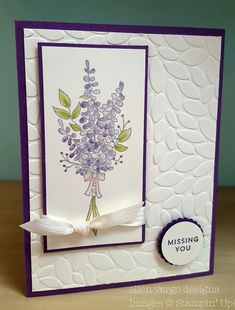 Stampin' Up! ® Independent Demonstrator Ellen Vargo Hello! I don't know about you, but I have always found coloring to be so relaxing....