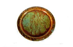 Copper gift. Decorative plate. Copper home by Underlyingsimplicity