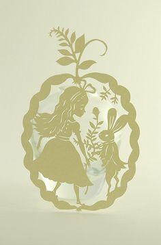 alice in wonderland by Elsa Mora