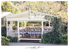 Beautiful bright reception flowers at Spicers Clovelly Estate Lush Green, Dahlia, Hydrangea, Peonies, Wedding Styles, Gazebo, Reception, Bloom, Outdoor Structures