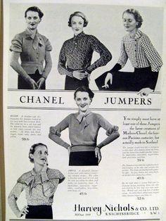 1933 Vogue Magazine