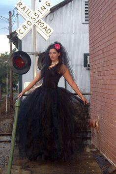 Halloween Costume, Maleficent Costume, Dia de los Muertos (Day of the Dead) Witch Costume, Goth Costume Halloween, Tutu Noir, Adult Tulle Skirt, Halloween Photography, Maleficent Costume, Under The Skirt, Black Tutu, Renaissance Costume, Holiday Wear