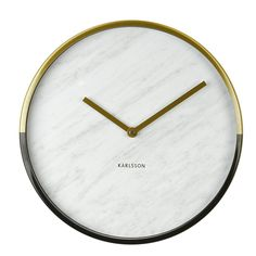 Wanduhr Marble Delight, Ø 30 cm Wall Clocks Uk, Wall Clock Silent, Wall Clock Online, Wall Clock Copper, Kitchen Clocks, All Of The Lights, Wall Clock Design, Marble Texture