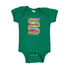 Rainbow Kelly Green Onesie  love the rainbow  ill get one for my 8 month grandbaby dw
