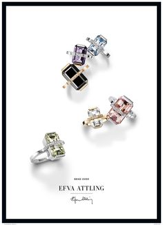 Efva Attling is the leading jewelry designer of Scandinavia. Attling s  feel-good line is the epitome of statement jewelry. afcf3819f3d41