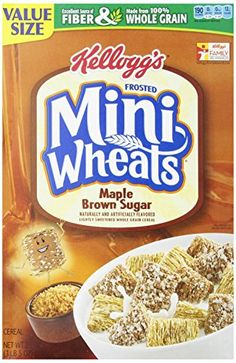 Kelloggs Frosted Mini Wheats Bite Size Maple Brown Sugar 21 Ounce -- Be sure to check out this awesome product.