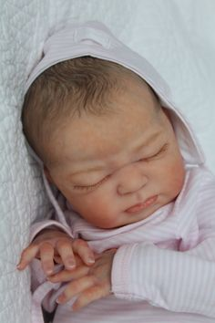Reborn ~ Life Like Baby Doll www.newbornlovenursery.blogspot.com