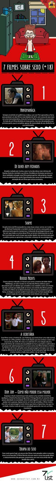 People, hoje o Idiota Cinéfilo pegou a onda de Christian Grey e Anastasia Steele, o casal mais falado da semana, para falar de um tema que para muitos ainda é considerado tabu. Confira 7 filmes sobre sexo (Post para maiores de 18 anos).  #SevenList #OIdiotaCinéfilo #Blog #Brazil #Cine #Cinema #Movie #Films #Filmes #Sexo #Sexy #Tabu #Grey #50Tons #CinquentaTons #ChristianGrey #AnastasiaSteele #NosCinemas