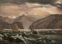 j c dahl - Google Search Classical Art, Dahl, Berg, Oil On Canvas, Museum, Christian, Painting, German, Google Search