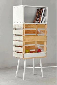 I think i could make a lovely winerack like this