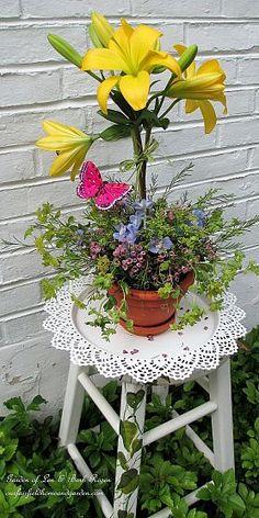 DIY  ~  Blooming Topiary (Garden of Len & Barb Rosen)