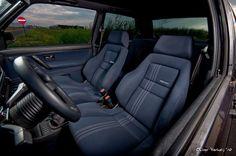 VW mk2 recaros