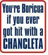 This is so true! Chancletas (Flip Flops) were the all time favorite child spanking resource (CSR) when I was growing up.