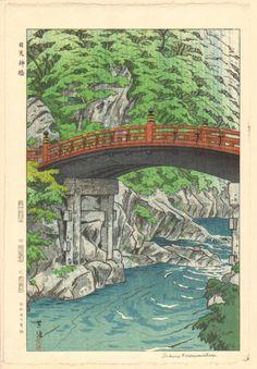 SHIRO KASAMATSU - Original 1952 Japanese Woodblock Print