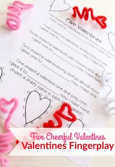 Valentines Finger Play for Kids | School Time Snippets. Pinned by SOS Inc. Resources. Follow all our boards at pinterest.com/sostherapy/ for therapy resources.