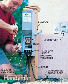 Low-Voltage Outdoor Lighting
