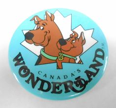 Canada's Wonderland Scooby Doo and Scrappy Pin