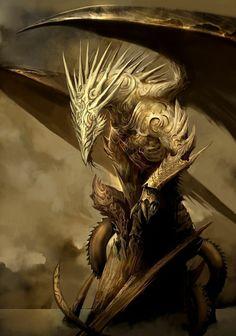 Shielded dragon