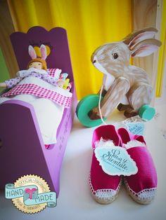 TE TENGO UN REGALO // La Princesa y el Guisante :) Running bunny  :) Alpargatas.. https://www.facebook.com/pasaysientate