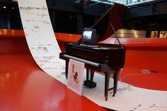 ©AmbraPatarini https://flic.kr/p/RS4nLo | MACRO Via Nizza_Febbraio 2017 | 03/02 - 26/03/2017 Daniele Lombardi - Ascolto Visivo  Esposizione del compositore, pianista e artista visivo Daniele Lombardi. I vari lavori esposti collegano arti visive e musica, tra cui una serie di installazioni sonore, manoscritti musicali e alcuni dipinti recenti di vaste dimensioni su tela e su carta.  www.museomacro.org/mostre_ed_eventi/mostre/daniele_lombar...