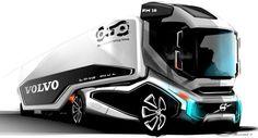 Concept Volvo truck.