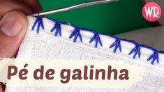 Caseado PÉ DE GALINHA em crochê rapido e fácil | carreira única - YouTube