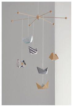 DIY Mobile Nordic Style - Dekorasyon - İç Tasarım -... http://www.bebekleralemi.com/diy-mobile-nordic-style-dekorasyon-ic-tasarim/