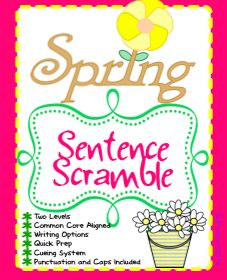 Two levels of spring-themed fun!