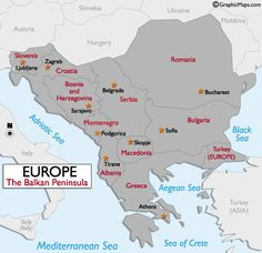 The Balkans is where independent Slavic states began appearing after 1071.  This area was majorly subjected to influence from the Byzantine Empire in ways such as Christianity being spread.
