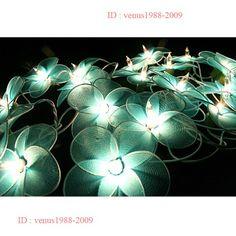Flower patio fairy Night Christmas wedding party homestring light FL3 | venus1988-2009 - Housewares on ArtFire