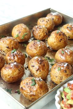 Great Recipes, Favorite Recipes, Starters, Baked Potato, Nom Nom, Delish, Bacon, Good Food, Food And Drink