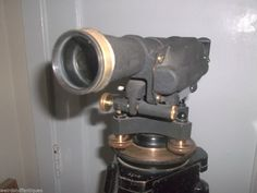 vintage Keuffel & Esser Paragon tilting level scope box tripod extras 9092 jig