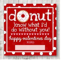 Valentine Printable ;) xoxo