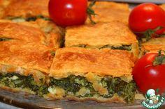 """Шпинатный пирог """"Спанокопита"""" - кулинарный рецепт"""