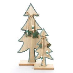 Christmas tree decoration 1 pair of wood tree decor standing Ornaments for home xmas party decor supplies Wooden Christmas Tree Decorations, Christmas Wood Crafts, Xmas Ornaments, Christmas Time, Merry Christmas, Wood Tree, Tree Sculpture, Sand Art, Xmas Party