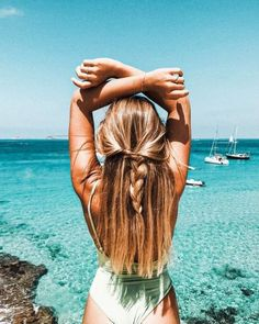 Easy Summer Hairstyles, Pretty Hairstyles, Braided Hairstyles, Beach Hairstyles For Long Hair, School Hairstyles, Wedding Hairstyles, Cute Hairstyles For Teens, Halloween Hairstyles, Hairstyle Short