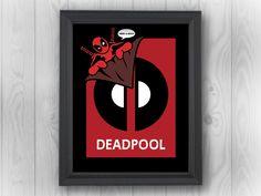 Deadpool Marvel Universe Pop Art Sticker Wall Window Car Laptop Phone Case Decal