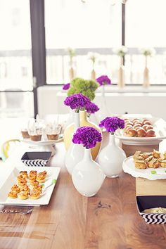 A Mardi Gras Bridal Shower by Little Miss Party Planner
