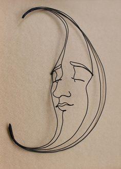 Beautiful Metal Wire Sculptures by Gavin Worth - Cube Breaker