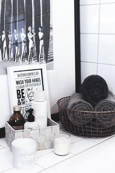 Pflanzen und Deko für ein schönes Badezimmer | Bathroom ideas von @zukkermaedchen