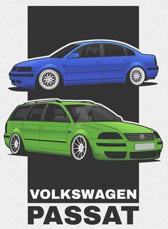 Volkswagen Passat B5 / B5FL by erithdorPL.deviantart.com on @DeviantArt