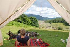 A beautiful view awaits at Graig Wen, Snowdonia.