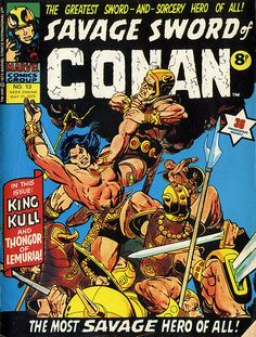 Savage Sword of Conan #13