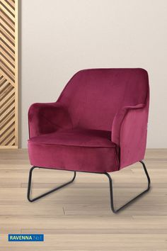 Back To Home, Back To Reality, Ravenna, Accent Chairs, Armchair, Burgundy, Furniture, Home Decor, Upholstered Chairs
