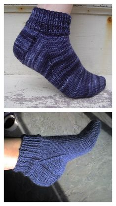 Free Knit Ankle Sock Patterns Smart Women Never Go for Boring Socks, Do You? They say that socks out Gestrickte Booties, Knitted Booties, Knitted Slippers, Slipper Socks, Knitted Socks Free Pattern, Knitting Patterns Free, Knit Patterns, Gilet Crochet, Crochet Socks