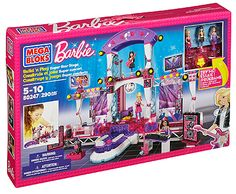 Mega Bloks Barbie® Build 'n Play Super Star Stage plus Giveaway!