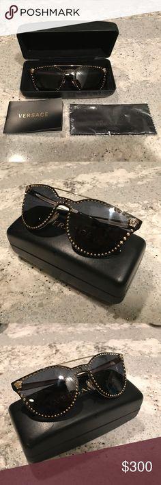 e4174d8813 Summer 2017 Versace Black Mirror Sunglasses Brand New!!, Never · Gafas De  Sol ...