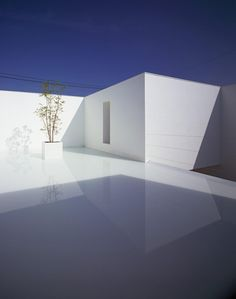 Superb White Cave House in Japan
